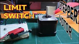 Stepper Motor With Limit Switch Arduino Basic Usage