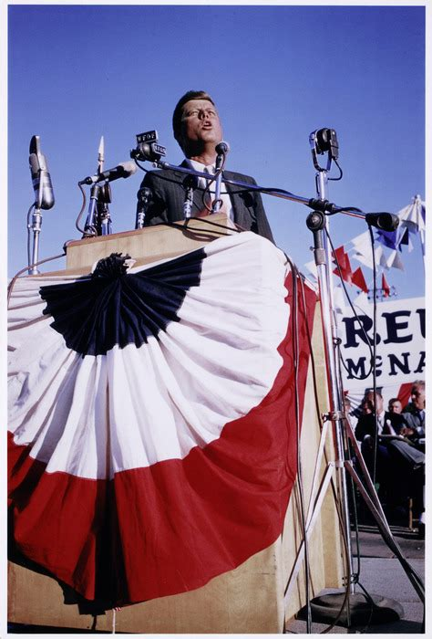 [john F Kennedy Campaigning In Michigan] International