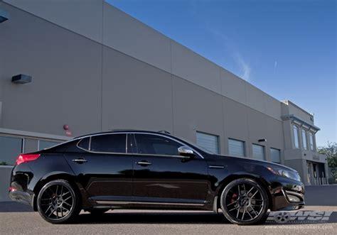 kia optima   gianelle yerevan  matte black black lip wheels wheel specialists