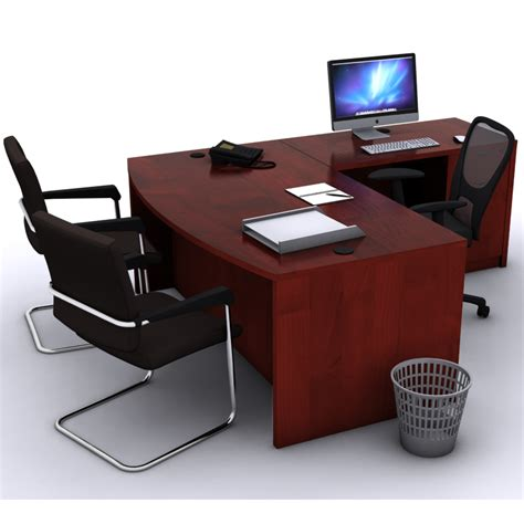 l shaped office desk l shaped bow front desk new life office