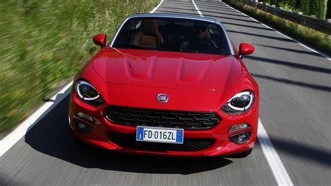 Fiat Gear by Review The New Fiat 124 Spider Top Gear