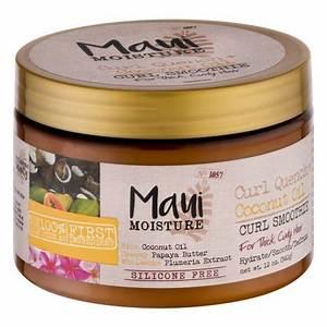 Maui Moisture Coconut Hair Oil Curl Smoothie 120 OZ For