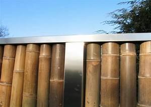 Sichtschutzzaun Bambus Holz : bambus zaunelemente moderner sichtschutz ~ Markanthonyermac.com Haus und Dekorationen