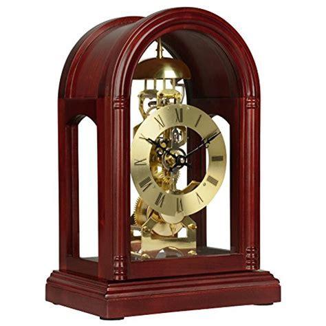 HENSE Regulator Mechanical Wind Up Mantel Chime Clocks