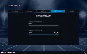 Steam Community    Guide    Axis Football 18 Manual