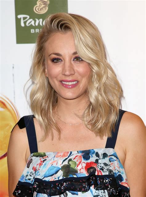 Kaley Cuoco Launch Panera Bread New Craft Beverage