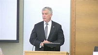 Remarks by President Patrick Harker at the New Perspectives Conference - YouTube