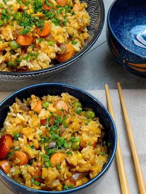 cuisiner le vrai riz frit chinois les 20 meilleures idées de la catégorie riz frit japonais