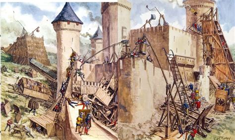 cultura siege social siege warfare middle ages weapons and warfare