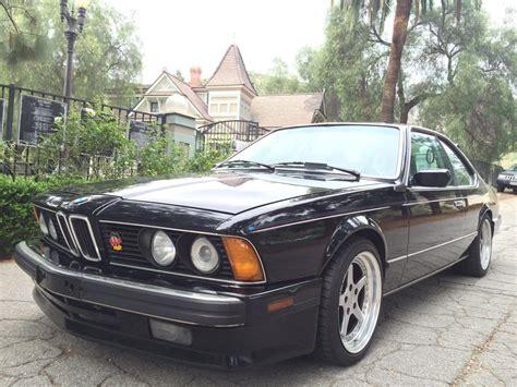 Bmw For Sale by 1988 Bmw 635csi Base Coupe For Sale