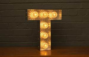 marquee light up letter t goodwin goodwintm london With letter t light