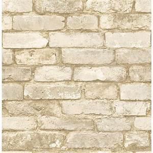 Brick Wallpaper At Home Depot