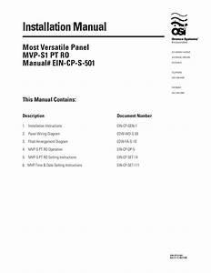 Orenco Control Panel Wiring Diagram