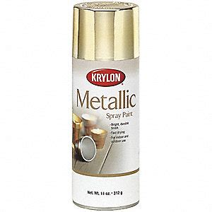 krylon metallic metallic spray paint  metallic bright