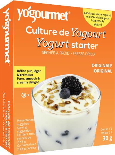 sch駑a chambre de culture culture de yogourt originale yogourmet canada