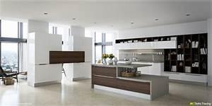 Meuble De Separation Design : meuble s paration cuisine salon en 55 id es ~ Teatrodelosmanantiales.com Idées de Décoration