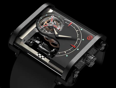 Ollivier Saveo Luxury Flying Tourbillon Racer Watch