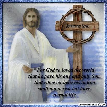 Christian Jesus Eternal God Religious Quotes Happy
