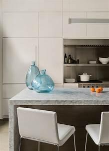 Plan De Travail Cuisine Marbre : plan de travail marbre sublimer sa cuisine avec un mat riau noble ~ Melissatoandfro.com Idées de Décoration