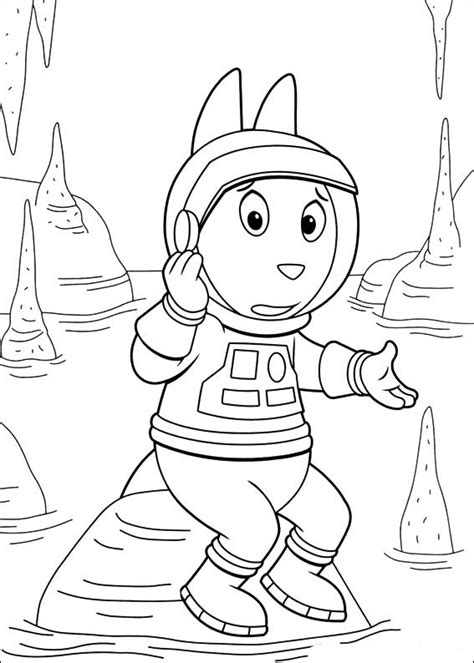 backyardigans coloring pages    print
