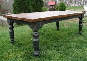 amish kitchen furniture the louden stockton farm table in black for the home