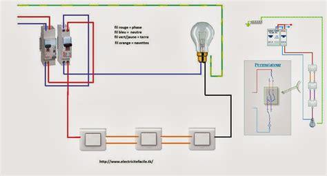 3 interrupteurs pour une le permutateur