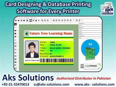 cardpresso xs edition card designing  printing