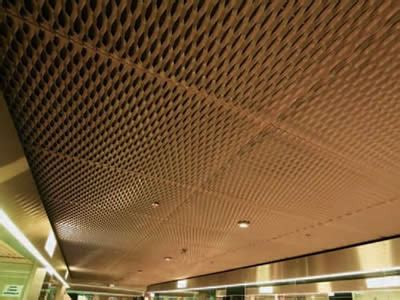 copper expanded metal sheet  decorations  protective facilities