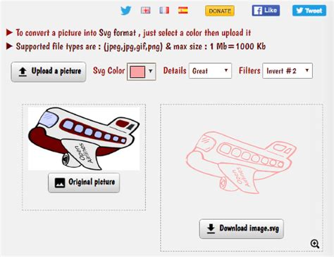 ⭐ convert your svg image to jpg online in a few seconds. 5 Online Image To SVG Converter Websites Free
