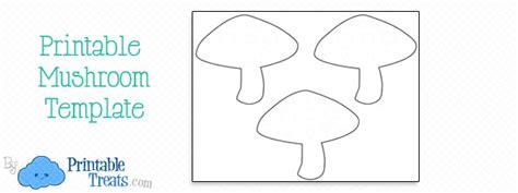 printable mushroom template printable treatscom