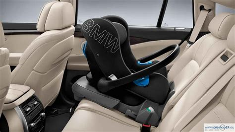 Bmw Genuine Baby Car Seat 0+ Rear Facing In Black