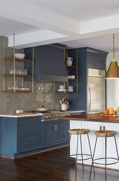gorgeous blue kitchen cabinet ideas