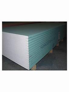 Produit Hydrofuge Pour Placo : placo ba13 hydrofuge 260x120 cm la plaque m2 ~ Nature-et-papiers.com Idées de Décoration