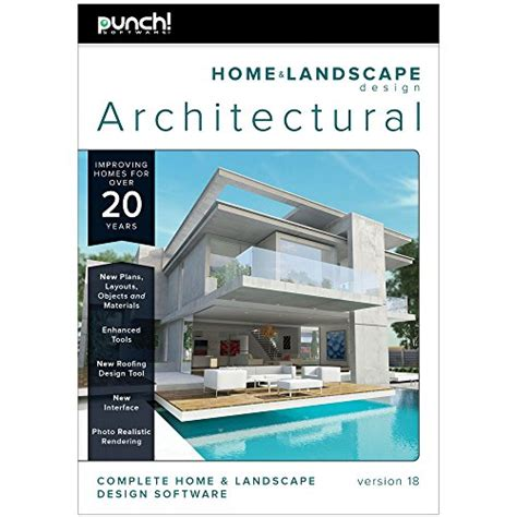 Home Design Architectural Series 18 by Punch Home Landscape Design Architectural Series V18
