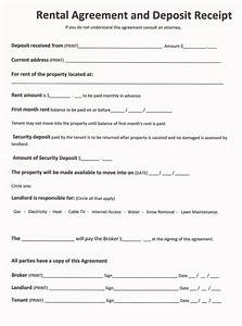 free rental forms to print free and printable rental With lease document free