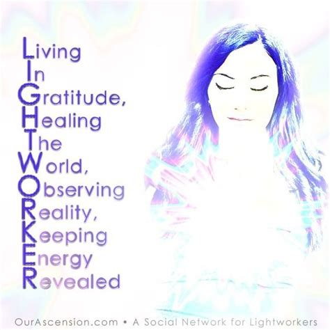 What Is A Light Worker by Lightworker Stands For Quotes Of Wisdom