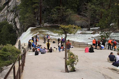 Vernal Fall Yosemite National Park California Usa
