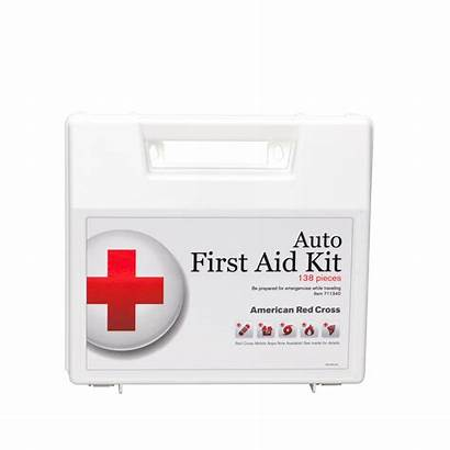Aid Kit Deluxe Redcross Supplies Cross American