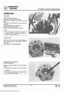 1982-1983 Honda Cr250r Service Manual