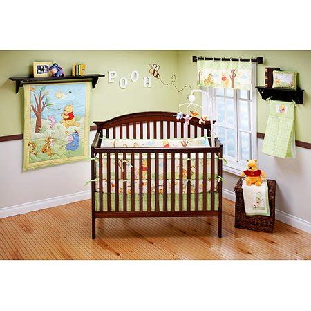 winnie the pooh crib bedding set winnie the pooh dis disney baby pooh s playful day 4