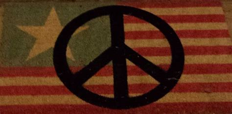 Peace Sign Doormat by 13 Best Our Peace Rugs Door Mats Images On
