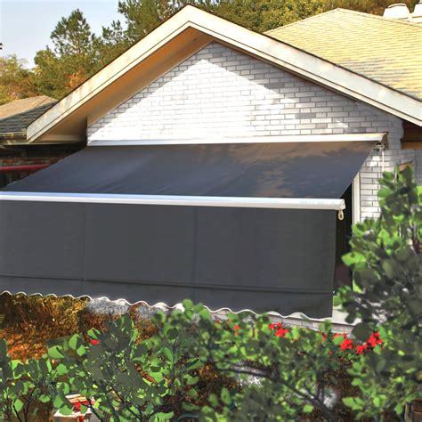 store banne coffre manuel store banne semi coffre 4x3m manuel gris store de terrasse parasol tonnelle store voile