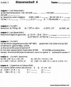 Terme Berechnen Klasse 5 : mathe klassenarbeit zum aufstellen von termen klasse 5 ~ Themetempest.com Abrechnung