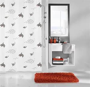 Duschvorhang Schwarz Weiß : kleine wolke duschvorhang sharky schwarz wei 180 x 200 cm breite x h he badaccessoires ~ Yasmunasinghe.com Haus und Dekorationen