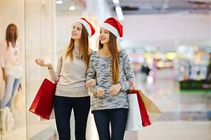 11 stock images of ladies Christmas shopping while wearing a Santa hat, because obviously this ...  Shopping