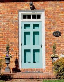 front door color for orange brick house search
