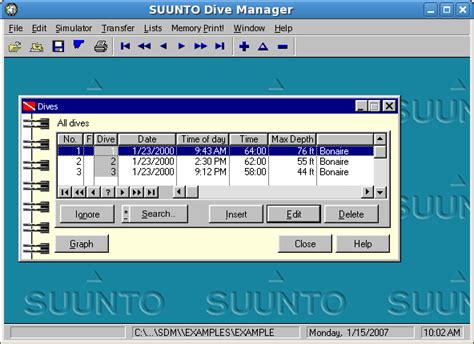 suunto dive manager suunto dive manager file extensions
