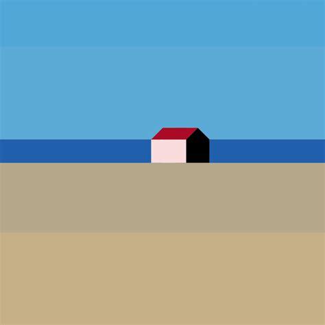 tableaux chambre la maison minimaliste