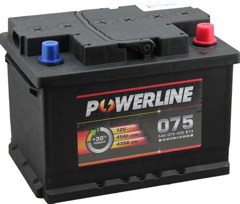 Batterie Car by 075 Powerline Car Battery 12v Car Batteries Powerline