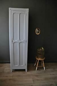 Armoire Parisienne Vintage : petite armoire parisienne vendue atelier vintage ~ Teatrodelosmanantiales.com Idées de Décoration